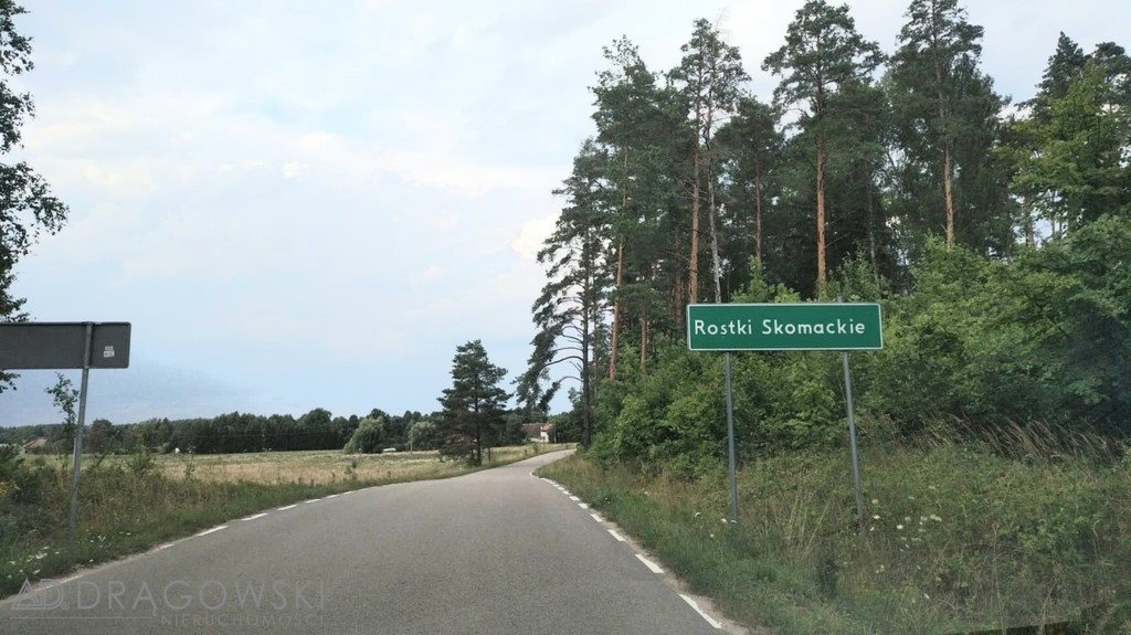 Działka budowlana na sprzedaż Rostki Skomackie  10000m2 Foto 2