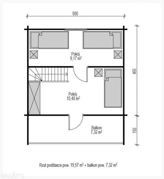 Dom na sprzedaż Łosie  40m2 Foto 8