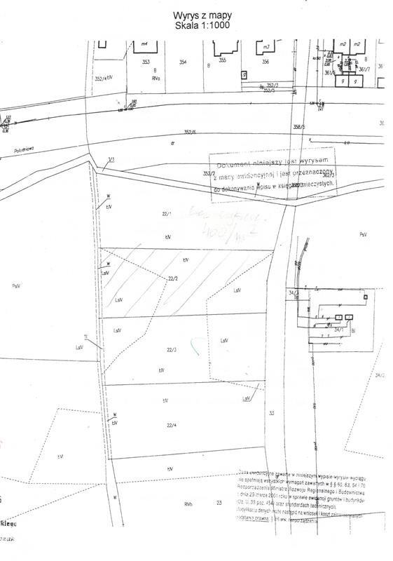 Działka budowlana na sprzedaż Sarbinowo, Nad Rozlewiskiem, Nad Rozlewiskiem, Nad Rozlewiskiem  3054m2 Foto 1