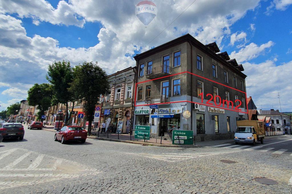Lokal użytkowy na wynajem Nowy Targ, Tadeusza Kościuszki  120m2 Foto 1