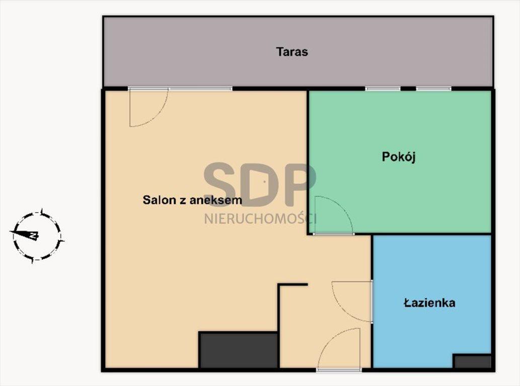Mieszkanie dwupokojowe na sprzedaż Wrocław, Krzyki, Klecina, Buraczana  38m2 Foto 2