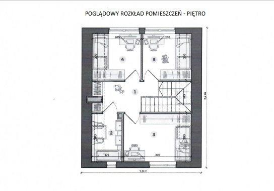 Dom na sprzedaż Pabianice, Nowy dom 88 m2 w stanie deweloperskim  88m2 Foto 8
