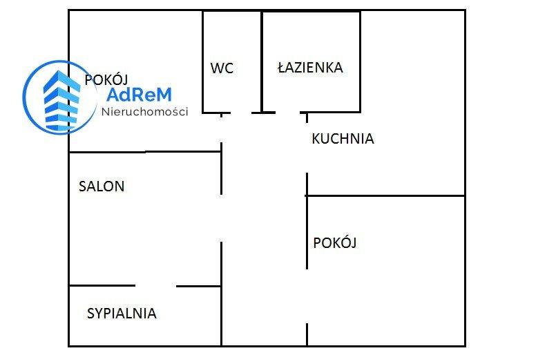 Mieszkanie czteropokojowe  na sprzedaż Białystok, Piasta  58m2 Foto 1