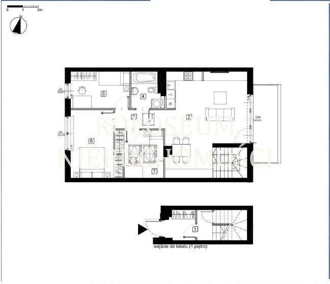 Mieszkanie czteropokojowe  na sprzedaż Warszawa, Marki, Gliniecka  83m2 Foto 1