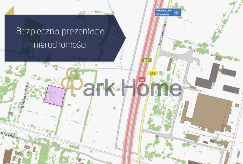 Działka przemysłowo-handlowa na sprzedaż Wrocław, Żerniki, Białogardzka  4399m2 Foto 1