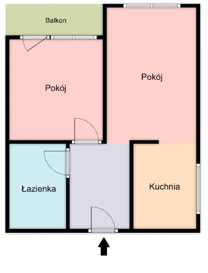 Mieszkanie dwupokojowe na sprzedaż Warszawa, Praga-Południe Saska Kępa, Peszteńska  36m2 Foto 1