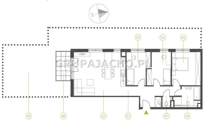 Mieszkanie czteropokojowe  na sprzedaż Katowice, Kostuchna, Bażantowo, Bażantów  91m2 Foto 2