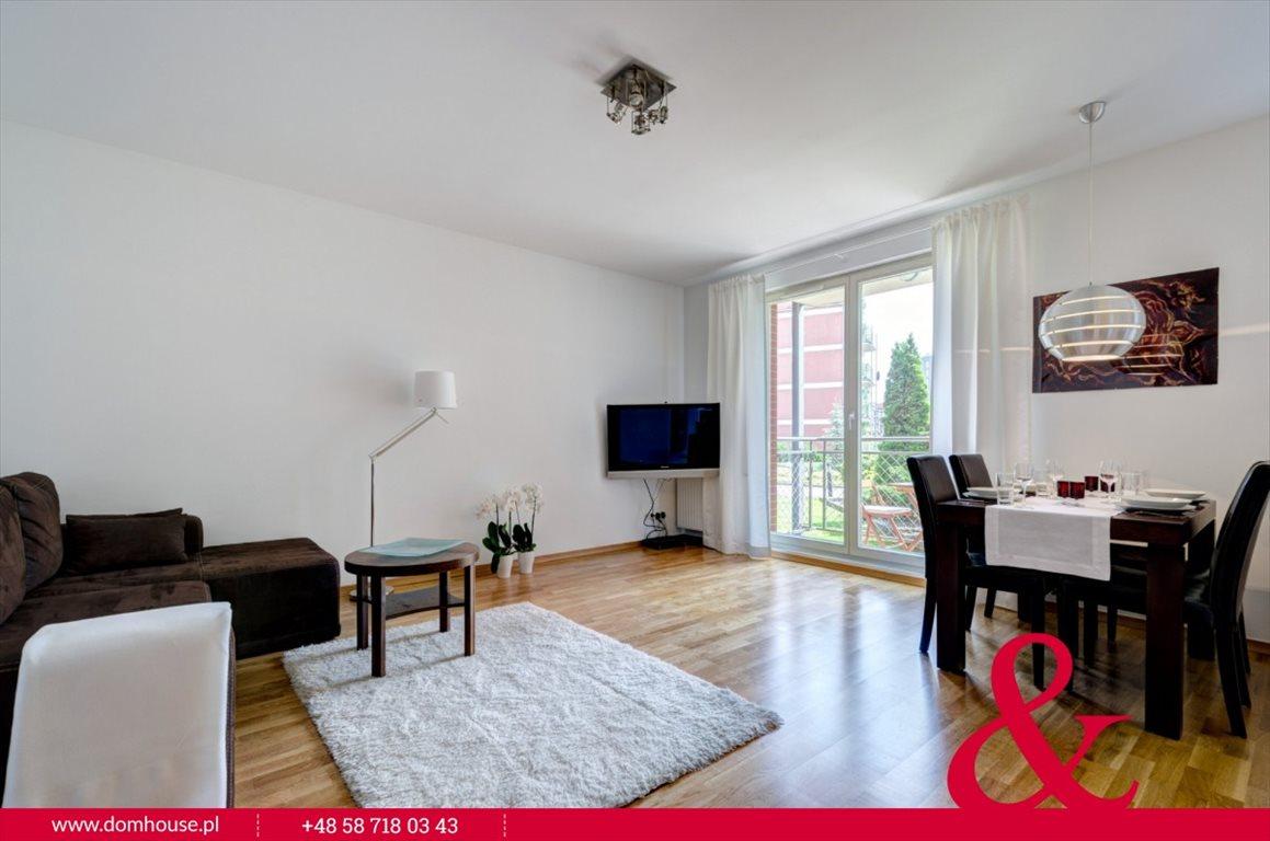 Mieszkanie dwupokojowe na wynajem Gdańsk, Śródmieście, Lastadia  51m2 Foto 1