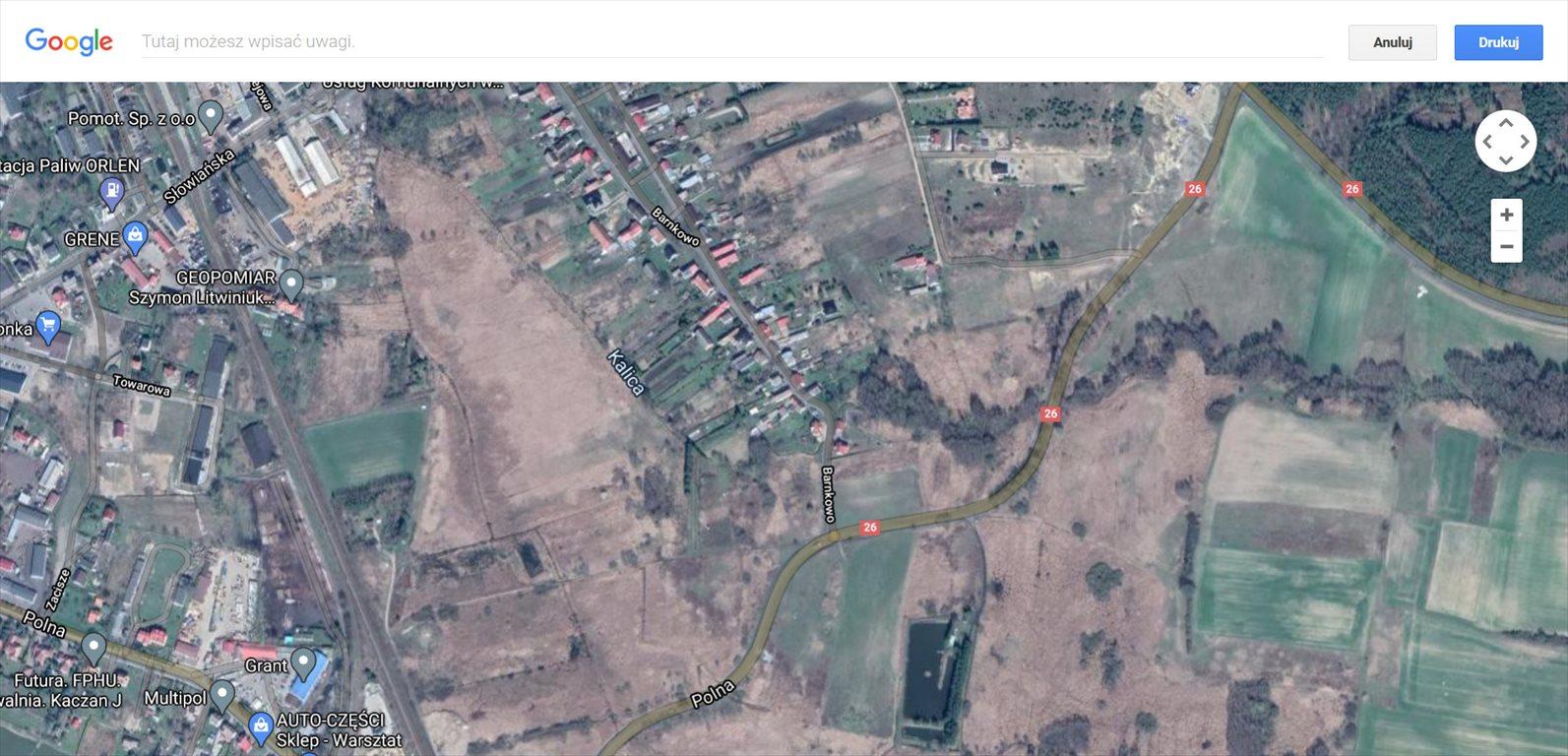 Działka rolna na sprzedaż Chojna  4455m2 Foto 1
