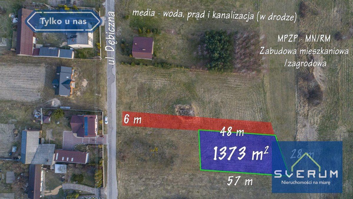 Działka budowlana na sprzedaż Truskolasy  1373m2 Foto 3
