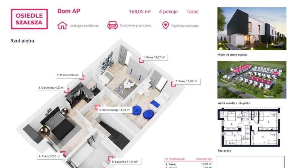 Dom na sprzedaż Gliwice, Szałsza, Ptasia  168m2 Foto 4