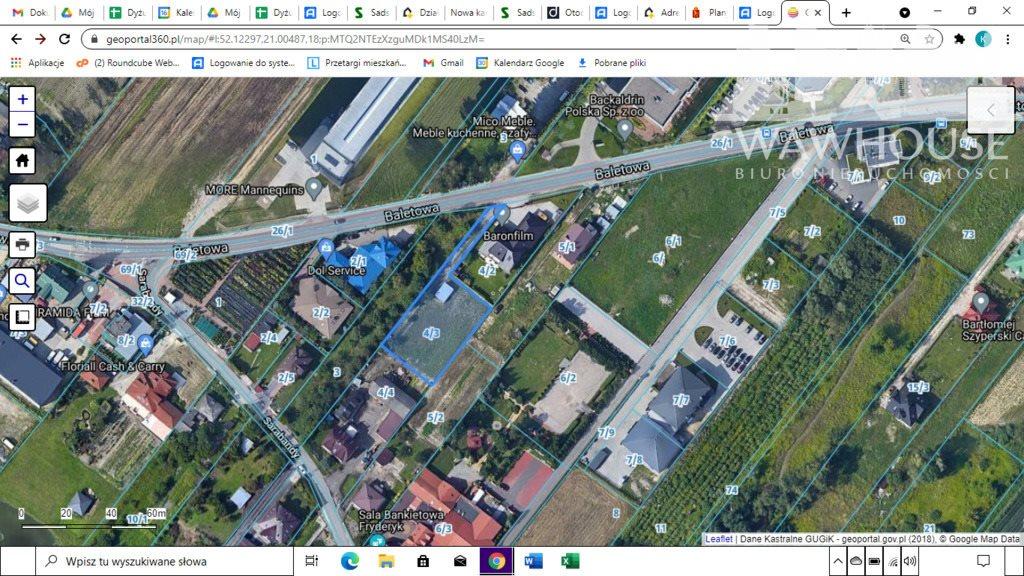 Działka inwestycyjna na sprzedaż Warszawa, Ursynów  1441m2 Foto 1