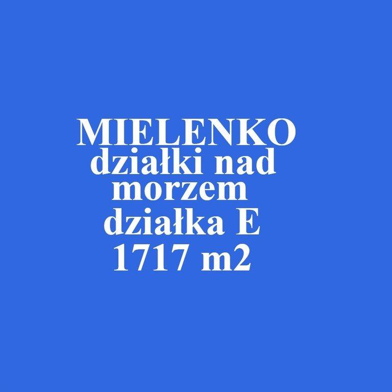 Działka inna na sprzedaż Mielenko  1717m2 Foto 1