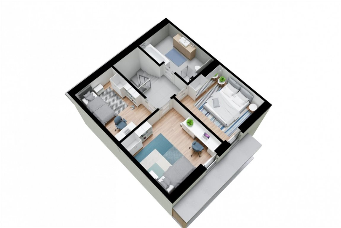 Mieszkanie czteropokojowe  na sprzedaż Mosty, Złote Piaski  96m2 Foto 6