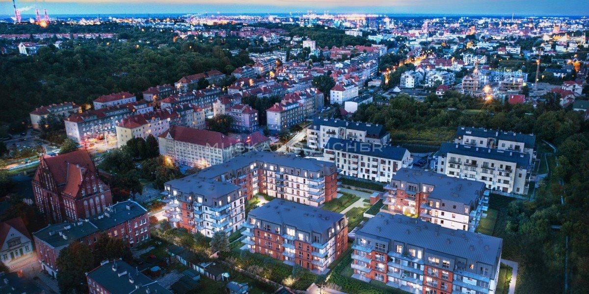 Mieszkanie dwupokojowe na sprzedaż Gdańsk, Siedlce, Jacka Malczewskiego  45m2 Foto 1