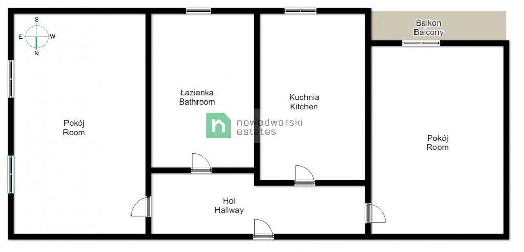 Mieszkanie dwupokojowe na wynajem Kraków, Stare Miasto, Stare Miasto, Łobzowska  50m2 Foto 12