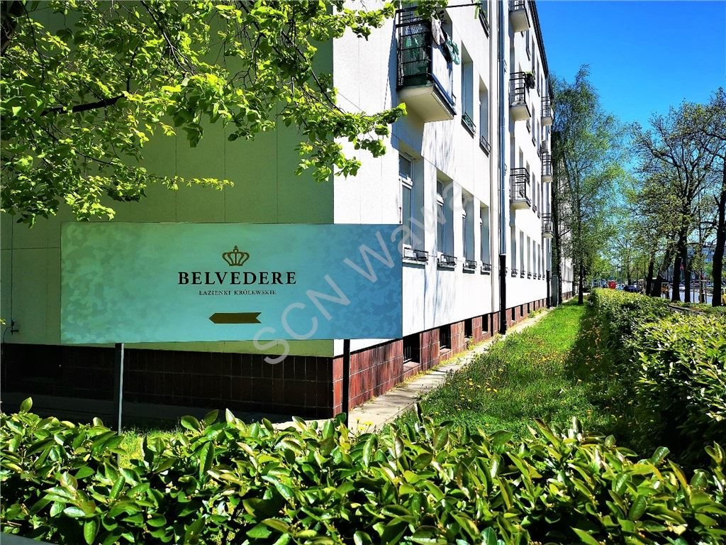 Mieszkanie trzypokojowe na sprzedaż Warszawa, Śródmieście, Belwederska  72m2 Foto 1