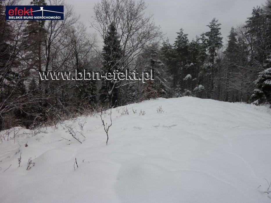 Działka leśna na sprzedaż Międzybrodzie Bialskie  3600m2 Foto 9