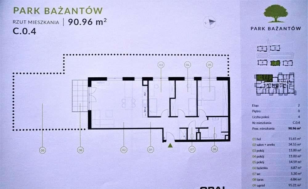 Mieszkanie czteropokojowe  na sprzedaż Katowice, Kostuchna, Bażantów 20  91m2 Foto 10