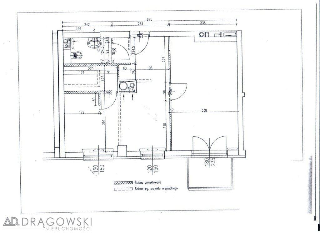 Mieszkanie dwupokojowe na sprzedaż Warszawa, Ursynów, al. Komisji Edukacji Narodowej  47m2 Foto 5
