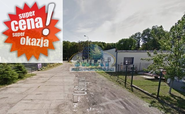 Działka przemysłowo-handlowa na sprzedaż Police, Usługowa  1840m2 Foto 1