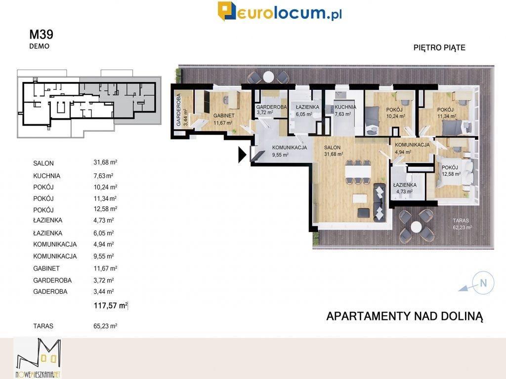 Mieszkanie na sprzedaż Kielce, Przelot  118m2 Foto 4