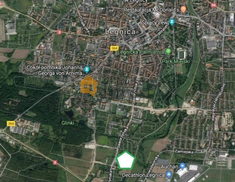 Działka inwestycyjna na sprzedaż Legnica, Jaworzyńska  27203m2 Foto 2