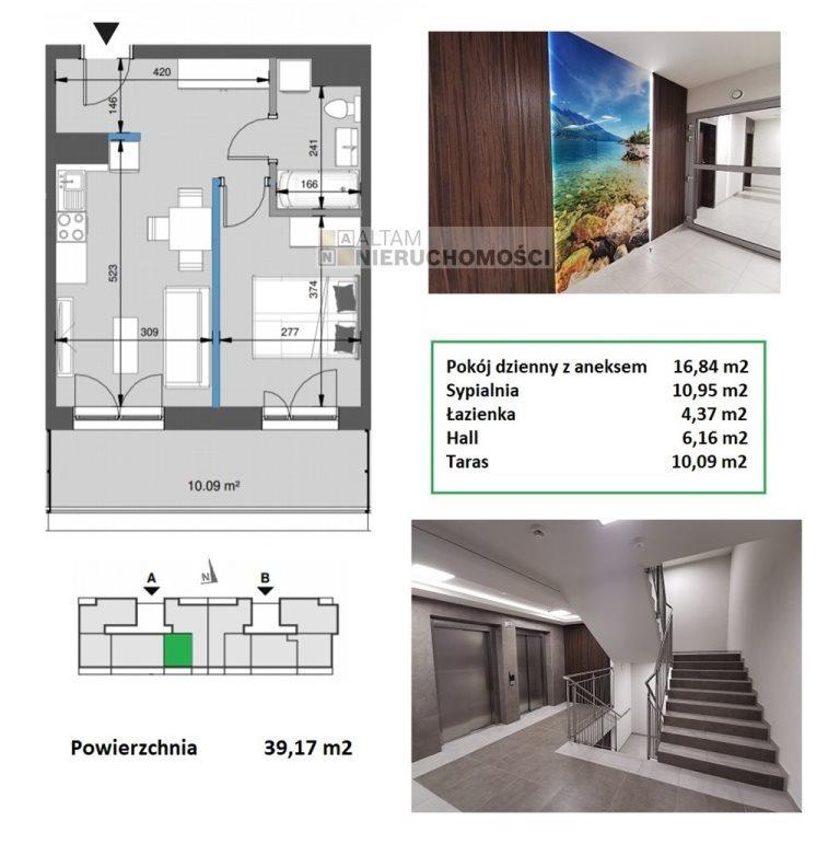Mieszkanie dwupokojowe na sprzedaż Kraków, Mistrzejowice, Mistrzejowice  39m2 Foto 1