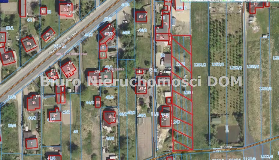 Działka budowlana na sprzedaż Częstochowa, Dźbów  1790m2 Foto 2
