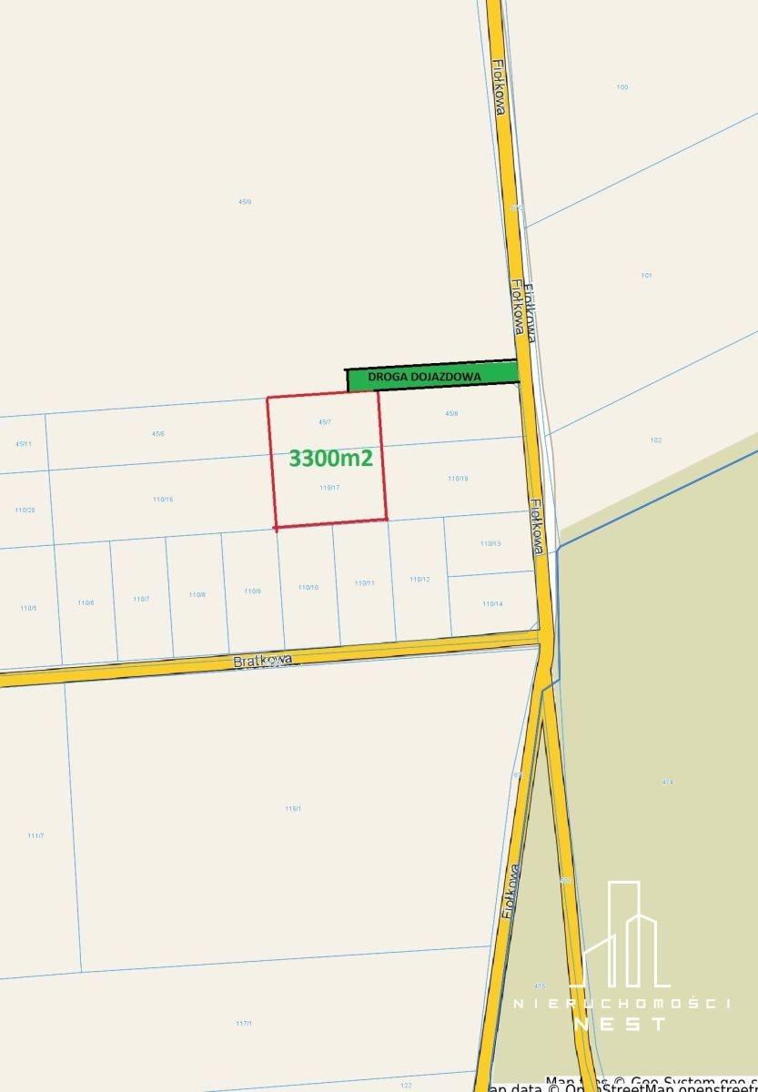 Działka rolna na sprzedaż Czmoniec, CZMONIEC  3300m2 Foto 1