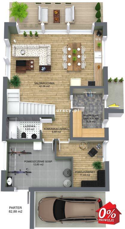 Dom na sprzedaż Wielka Wieś, Modlnica, Modlnica, Graniczna - okolice  163m2 Foto 5