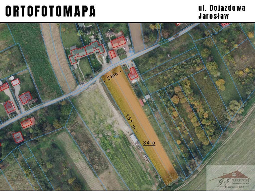 Działka budowlana na sprzedaż Jarosław, Dojazdowa  3400m2 Foto 4