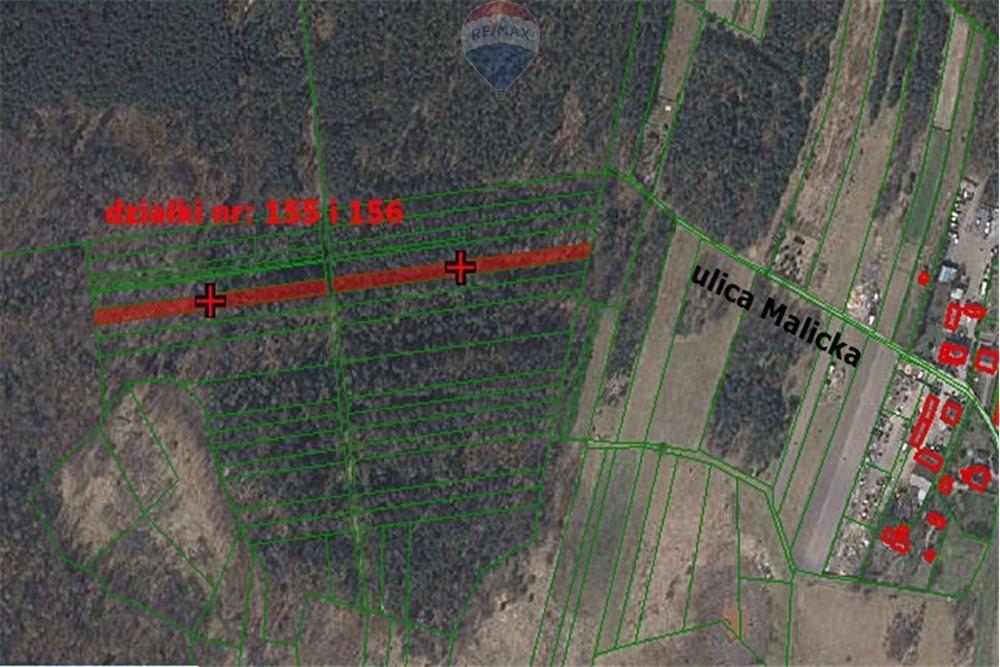 Działka leśna na sprzedaż Blachownia, Malice  7430m2 Foto 3