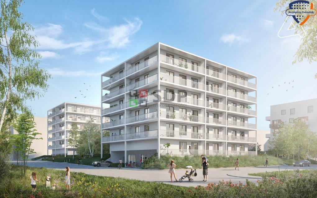 Mieszkanie trzypokojowe na sprzedaż Wrocław, Fabryczna, Żerniki, Henricha Lauterbacha  62m2 Foto 1