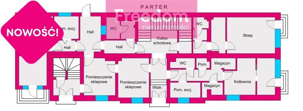 Lokal użytkowy na sprzedaż Tarnobrzeg, Szkolna  625m2 Foto 5