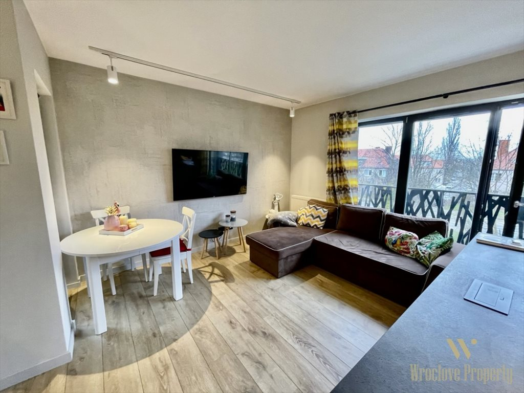 Mieszkanie trzypokojowe na sprzedaż Wrocław, Biskupin, Edwarda Dembowskiego  60m2 Foto 6