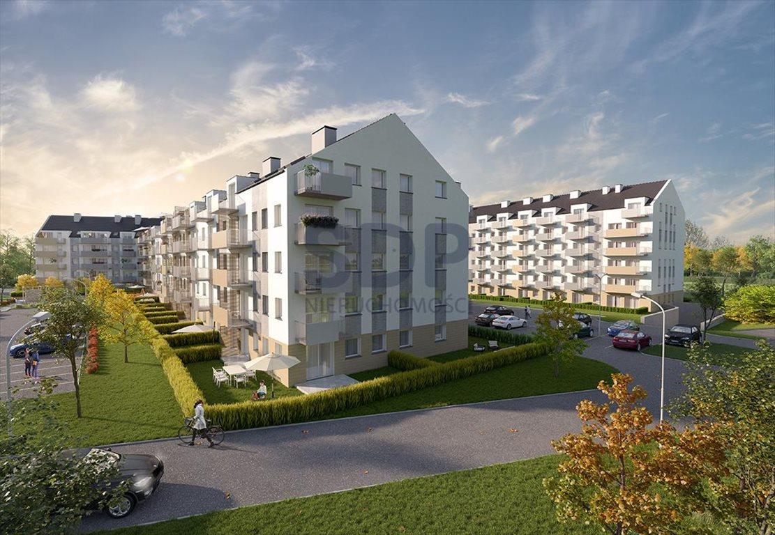 Mieszkanie dwupokojowe na sprzedaż Wrocław, Krzyki, Jagodno, Buforowa  37m2 Foto 1