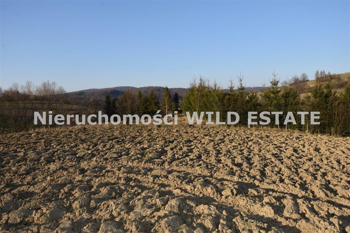 Działka rolna na sprzedaż Lesko, Średnia Wieś  3561m2 Foto 1