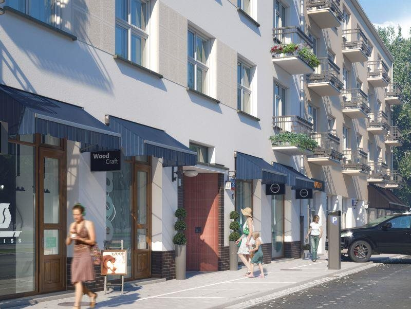 Lokal użytkowy na sprzedaż Warszawa, okolice Belwederskiej  102m2 Foto 1