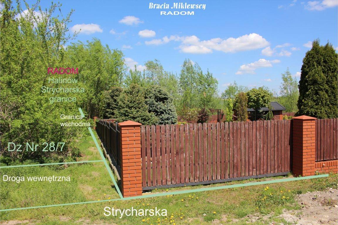 Działka budowlana na sprzedaż Radom, Halinów, Strycharska  2682m2 Foto 4