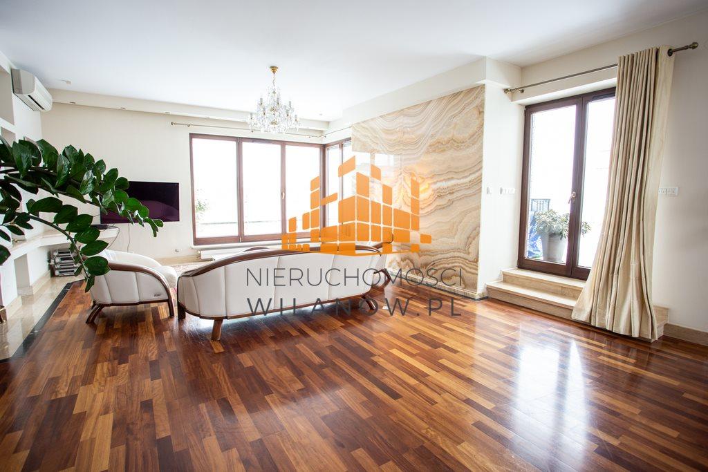 Mieszkanie czteropokojowe  na wynajem Warszawa, Wilanów, Sarmacka  200m2 Foto 3