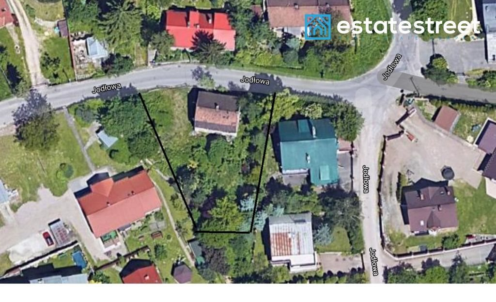 Działka budowlana na sprzedaż Kraków, Zwierzyniec, Zwierzyniec, Jodłowa  950m2 Foto 1