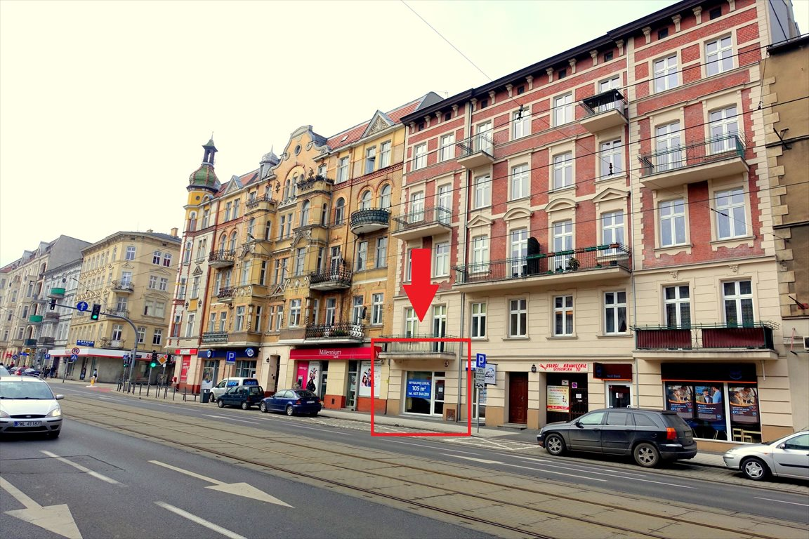 Lokal użytkowy na wynajem Poznań, Grunwald, Głogowska 70  105m2 Foto 1