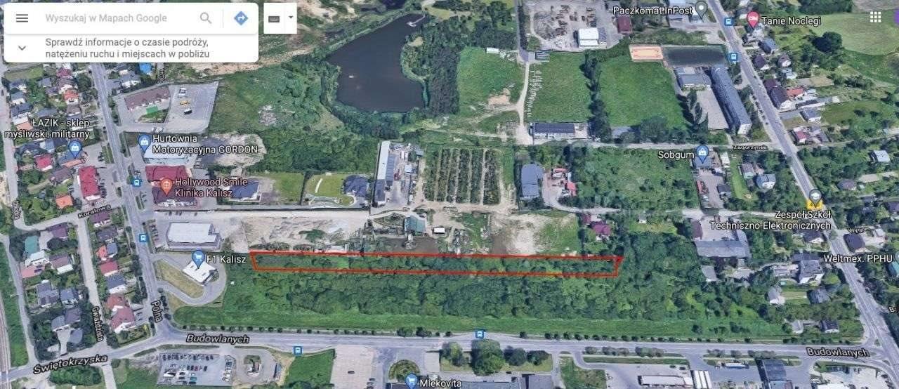 Działka budowlana na sprzedaż Kalisz, Budowlanych  5774m2 Foto 4