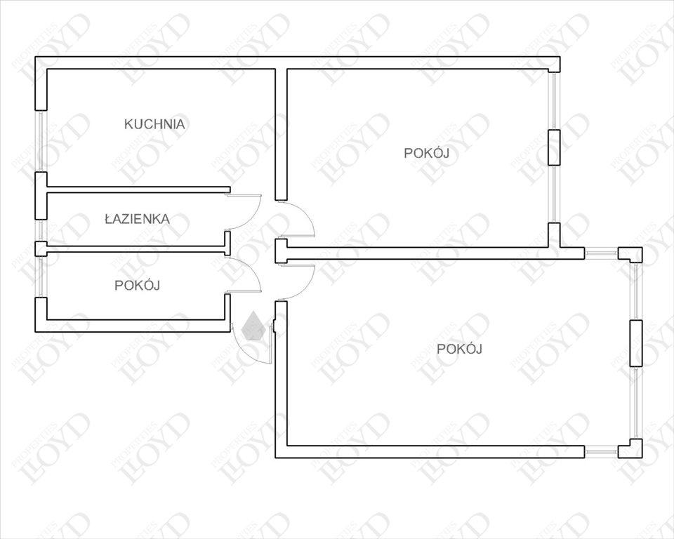 Mieszkanie trzypokojowe na sprzedaż Wrocław, Śródmieście, Jedności Narodowej  71m2 Foto 13
