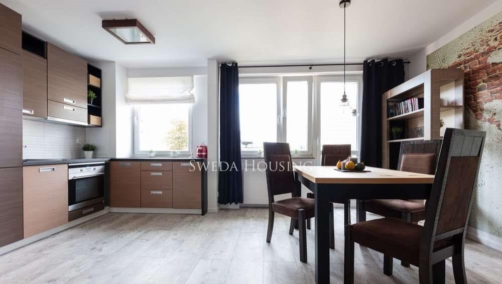 Mieszkanie dwupokojowe na wynajem Gdańsk, Przeróbka, Sienna  43m2 Foto 1