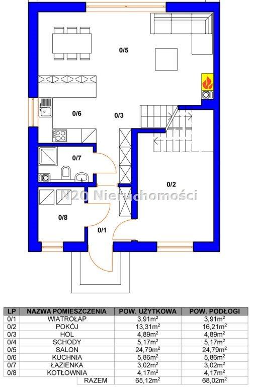 Dom na sprzedaż Zabierzów, Więckowice, Topolowa - okolice  125m2 Foto 3