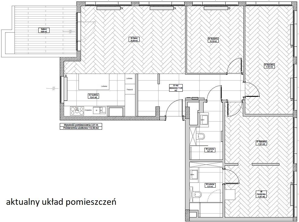 Mieszkanie czteropokojowe  na sprzedaż Warszawa, Śródmieście, Grzybowska  112m2 Foto 14