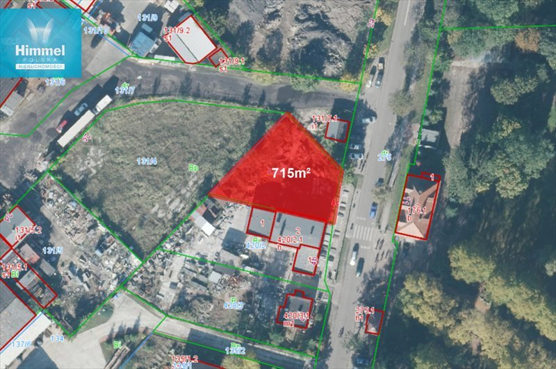 Działka budowlana pod dzierżawę Świnoujście, Karsiborska  715m2 Foto 1
