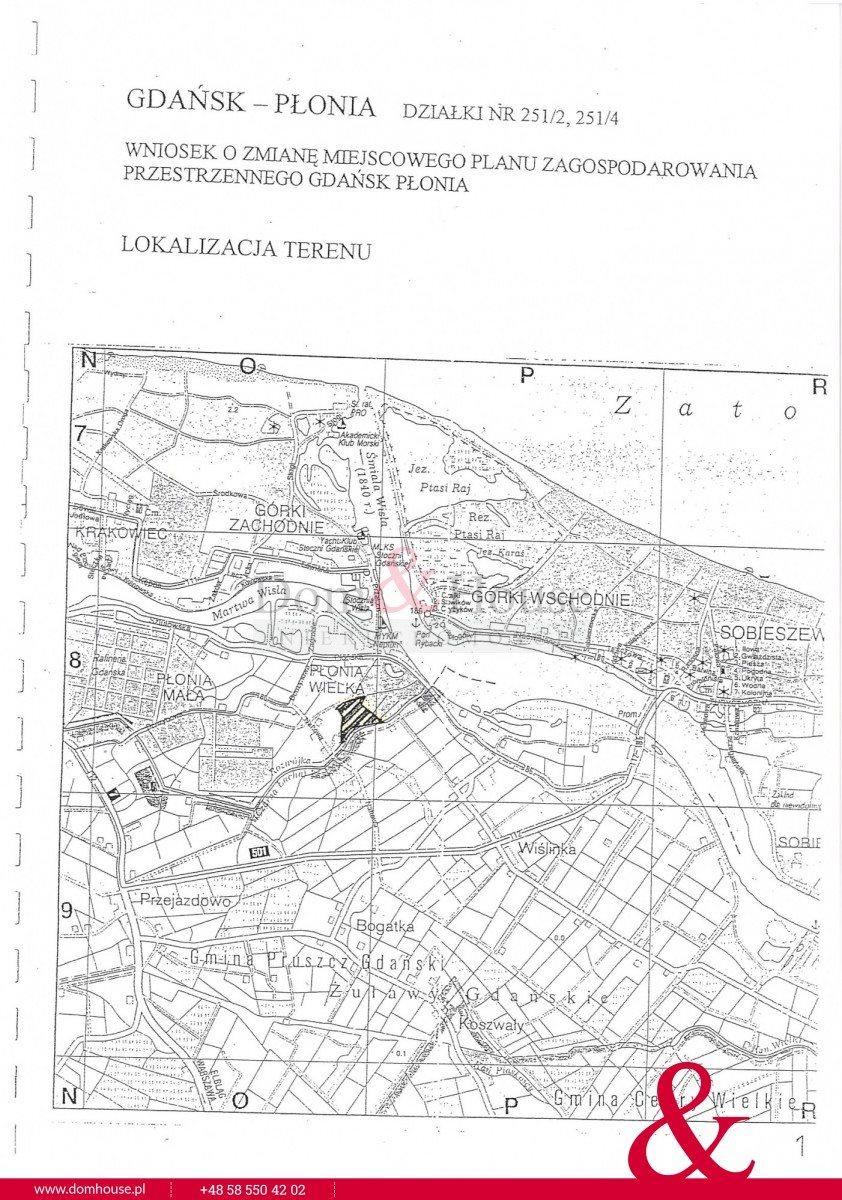 Działka przemysłowo-handlowa na sprzedaż Gdańsk, Płonia Wielka, Naftowa  24682m2 Foto 1